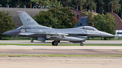 88-0525 - General Dynamics F-16C Fighting Falcon - United States - US Air Force (USAF)