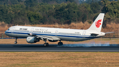 A picture of B6382 - Airbus A321213 - Air China - © SunnyZUUU