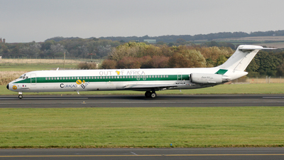 N431LF - McDonnell Douglas MD-82 - Insel Air