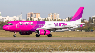 UR-WUB - Airbus A320-232 - Wizz Air Ukraine
