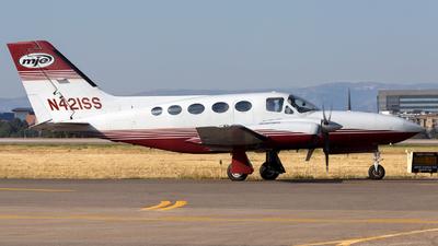 A picture of N421SS - Cessna 421C Golden Eagle - [421C1066] - © HA-KLS