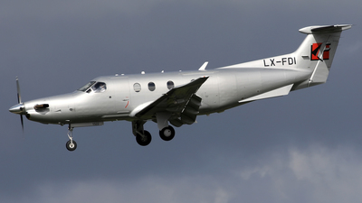LX-FDI - Pilatus PC-12/47E - Private