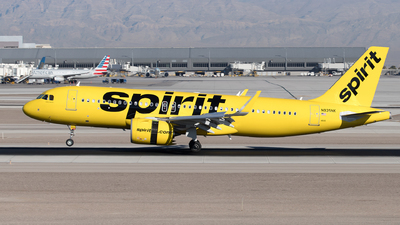A picture of N935NK - Airbus A320271N - Spirit Airlines - © Yixin Chen