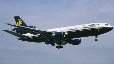 G-BHDH - McDonnell Douglas DC-10-30 - Caledonian Airways