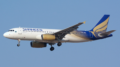 AP-BMC - Airbus A320-232 - Shaheen Air International