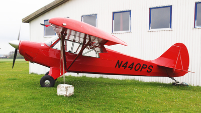 N440PS - Aviat A-1B Husky - Private
