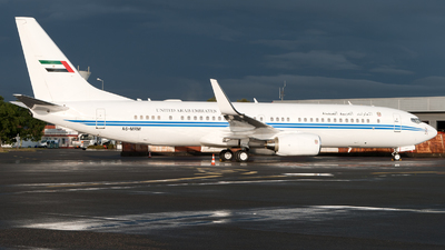 A6-MRM - Boeing 737-8EC(BBJ2) - United Arab Emirates - Dubai Air Wing