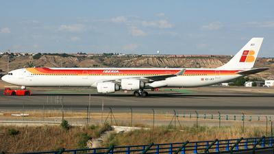 EC-JCY - Airbus A340-642 - Iberia