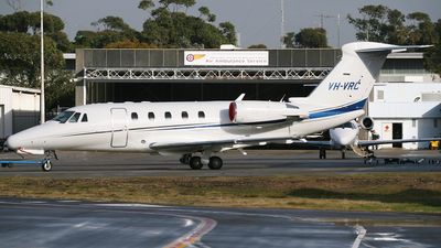 VH-VRC - Cessna 650 Citation III - Private