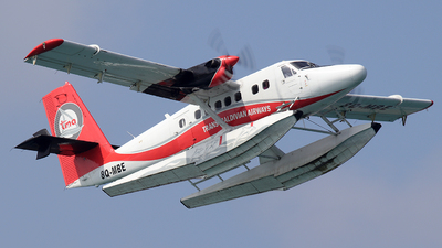 8Q-MBE - De Havilland Canada DHC-6-300 Twin Otter - Trans Maldivian Airways