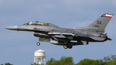 87-0384 - General Dynamics F-16D Fighting Falcon - United States - US Air Force (USAF)