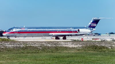 N821US - McDonnell Douglas MD-82 - USAir
