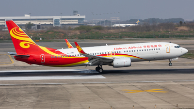 A picture of B206G - Boeing 73784P - Hainan Airlines - © Sweet Potato