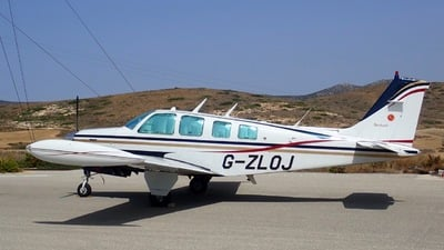 G-ZLOJ - Beechcraft A36 Bonanza - Private
