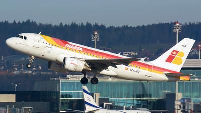 EC-HGR - Airbus A319-112 - Iberia