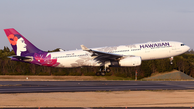 A picture of N384HA - Airbus A330243 - Hawaiian Airlines - © tomobile