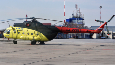 RA-22983 - Mil Mi-8T Hip - UTair Aviation