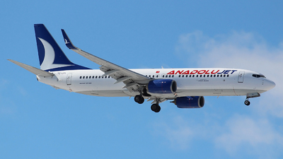 TC-JZL - Boeing 737-8AS - AnadoluJet