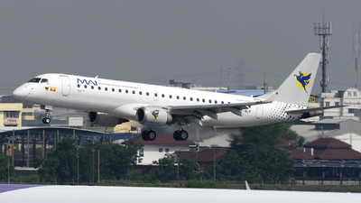 XY-ALP - Embraer 190-100LR - Myanmar Airways International (MAI)