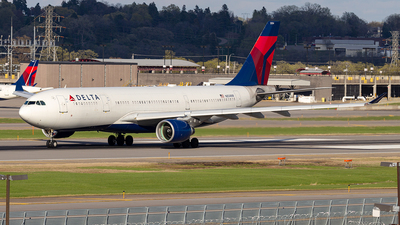 A picture of N854NW - Airbus A330223 - Delta Air Lines - © xuxinyi1000
