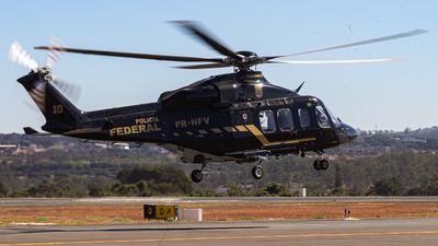 PR-HFV - Agusta-Westland AW-139 - Brazil - Federal Police