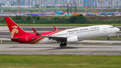 A picture of B1479 - Boeing 73787L - Shenzhen Airlines - © ZUCKGYQ