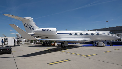 N505GD - Gulfstream G500 - Gulfstream Aerospace