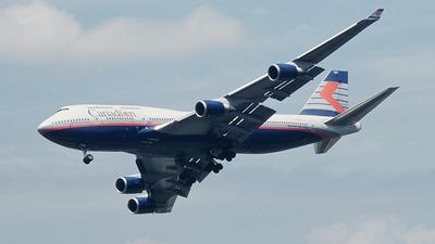 C-FBCA - Boeing 747-475 - Canadian Airlines International