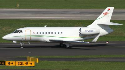 TC-TOS - Dassault Falcon 2000S - Private