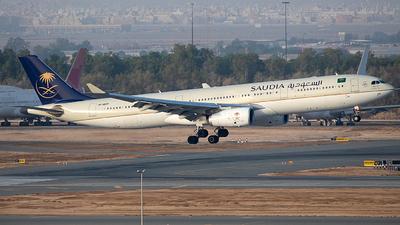 HZ-AQ29 - Airbus A330-343 - Saudi Arabian Airlines
