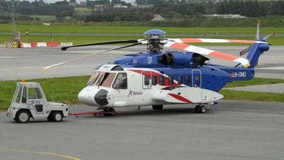 LN-ONU - Sikorsky S-92A Helibus - Bristow Helicopters