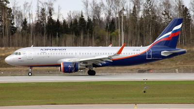 A picture of VPBFE - Airbus A320214 - Aeroflot - © Anton Karton