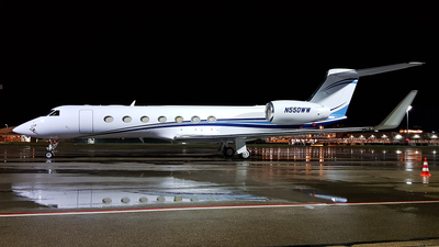 N550WW - Gulfstream G550 - Private