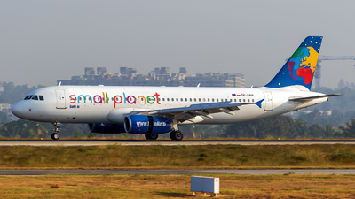 SP-HAH - Airbus A320-233 - Go Air (Small Planet Airlines Polska)