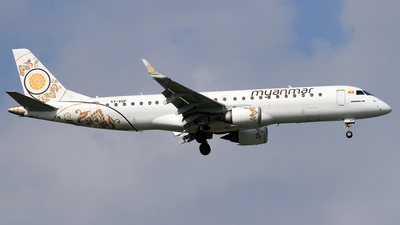 XY-AGP - Embraer 190-100LR - Myanmar National Airlines