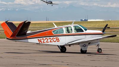 A picture of N222CB - Beech V35B Bonanza - [D8786] - © HA-KLS