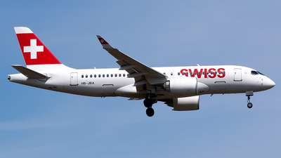 A picture of HBJBA - Airbus A220100 - Swiss - © Timo Duda
