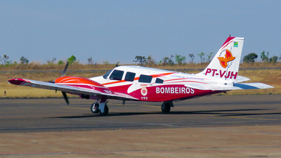 PT-VJH - Embraer EMB-810D Seneca III - Brazil - Government of Goias State