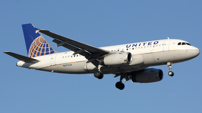 A picture of N894UA - Airbus A319132 - United Airlines - © Xiamen Air 849 Heavy