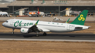 A picture of B8427 - Airbus A320214 - Spring Airlines - © SEN BAI