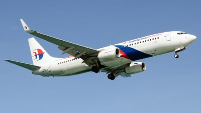 9M-MSB - Boeing 737-8H6 - Malaysia Airlines