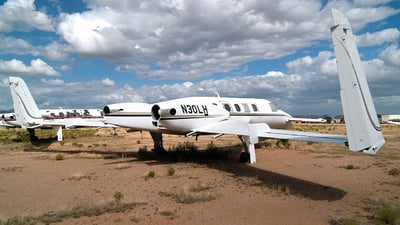 N30LH - Beechcraft 2000A Starship - Private