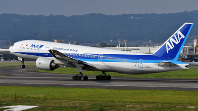 JA741A - Boeing 777-346ER - All Nippon Airways (ANA)