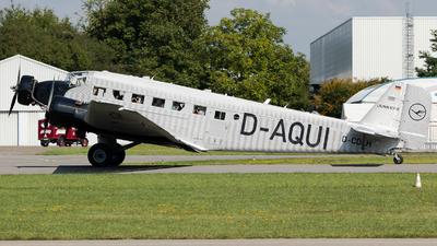 D-CDLH - Junkers Ju-52/3m - Deutsche Lufthansa Berlin-Stiftung (DLBS)