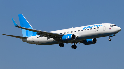A picture of VQBHW - Boeing 7378LJ - Pobeda - © Vitaly Revyakin