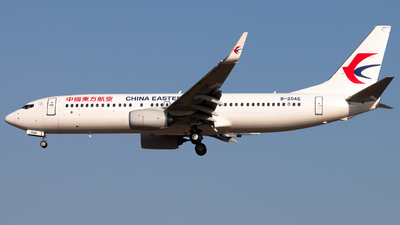 A picture of B20AE - Boeing 73789P - China Eastern Airlines - © Meng