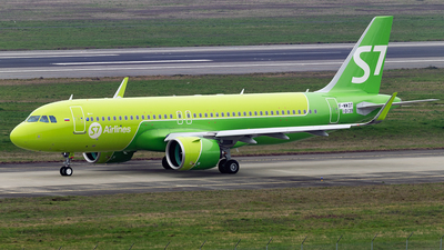 F-WWDT - Airbus A320-271N - S7 Airlines