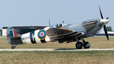 NX959RT - Supermarine Spitfire LF.IX - Private