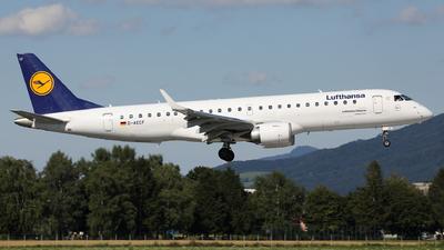 A picture of DAECF - Embraer E190LR - Lufthansa - © Karl Dittlbacher