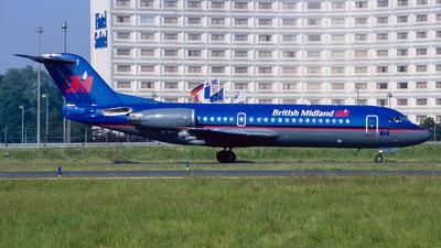 G-BVTG - Fokker 70 - British Midland